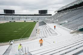Lane Stadium Seating Chart Student Section 33 Specific Msu Stadium Seating Chart