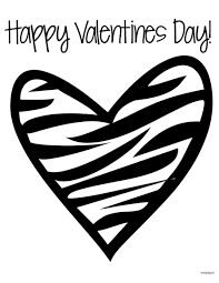 Small Picture Valentines Coloring Pages In Heart For Teenagers In glumme