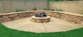 Stacked Stone Fire Pit fire pits orange county patio areas tru landscape services 3235 by uwakikaiketsu.us