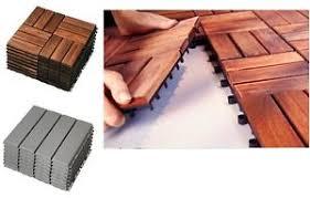 wood floor tiles ikea. Image Is Loading Ikea-RUNNEN-Wooden-Floor-Decking-Tiles-Brown-Stained- Wood Floor Tiles Ikea
