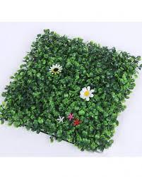 green artificial wall decoration grass tile size 15 5 x 23