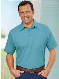 Haband Men S Size Chart Details About New Haband Men Premium Jersey Polo Light Aqua Sz 4x Big And Tall Cotton Blend