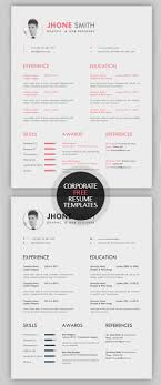 Free Professional Resume Template Downloads 100 Free Creative Resume Templates With Cover Letter Freebies 88
