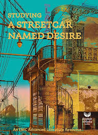 english media centre studying a streetcar d desire print  cover image for studying a streetcar d desire print