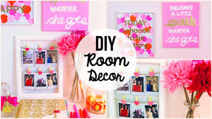 Diy Room Decor Easy Simple Wall Art Ideas Youtube