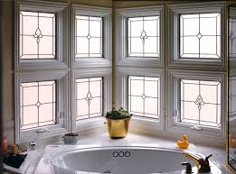 bathroom window glass. Bathroom Stained Glass Panels - BSG 5 Window