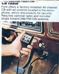factory cb radio ford truck enthusiasts forums does it look like this