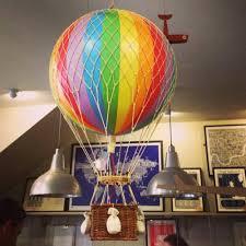 Rainbow Hot Air Balloon Decorations