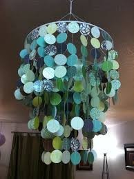 how to make a chandelier we could get fancy schmancy sbook paper in colors you like
