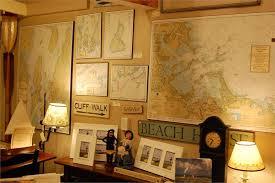 nautical office decor. Nautical Office Decor | Barnstable Harbor Mounted Chart NOAA 13251 I