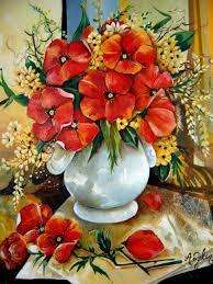Les Fleurs Peintre En Provence