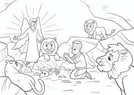 Small Picture Daniel In The Lions Den Coloring Page diaetme