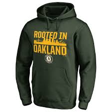 Hoodie Athletics Collection Roots Oakland Green Pullover Men's Hometown Branded Fanatics