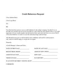How To Check Credit References For Business Credit Request Form Template Bityar Co