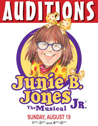 Will capture your heart just as the books captivated an entire generation of students. Marion Palace Theatre Blog Archive Auditions Junie B Jones Jr The Musical