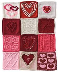 Knitted Heart Pattern Best Ravelry Have A Heart Afghan Pattern By Knit Simple