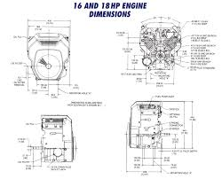 ohc16 ohc18 th16 th18 drawing kohler engines and kohler engine kohler ohc16 ohc18 th16 th18 drawing