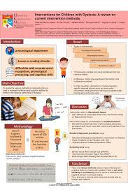 pdf interventions for children with dyslexia a review on cur intervention methods