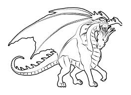 Dragon Color Pages Bearded Dragon Coloring Page Dragon Coloring Page