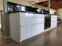 Finished And Completed Ikea Kitchen Sektion Cabinets Ringhult White