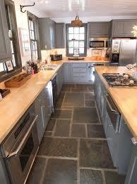 kitchen floor cupboards elegant outstanding best 25 slate floor kitchen ideas tile