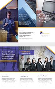 7 Corporate Business Brochures Designs Templates Free