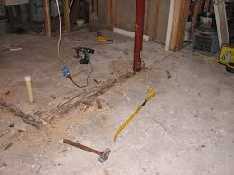 55 tiling basement floor over concrete how to tile a