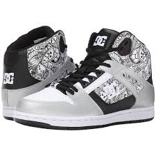 dc shoes high cut. dc rebound high se women\u0027s skate shoes, multi ($56) ❤ liked on polyvore dc shoes cut c