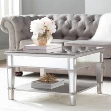 Willa Arlo Interiors Loganne Mirrored Square Coffee Table & Reviews |  Wayfair