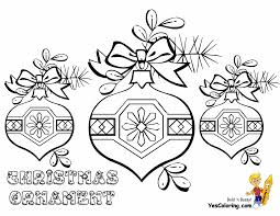 Small Picture Christmas Ornaments Coloring Pages