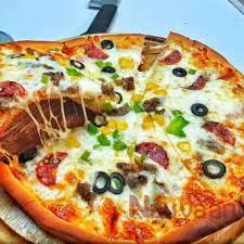 Cách làm bánh pizza đơn giản tại nhà không cần dùng lò nướng