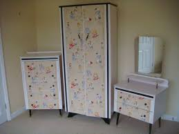 how to wallpaper furniture. Middleton Pink \u0026 Original 1930s French Wallpaper Upcycled Bedroom Suite How To Furniture T