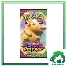 MỚI NHẤT] Pack bài Pokemon - Sword & Shield Vivid Voltage hàng Mỹ, giá chỉ  110,000đ! Mua ngay kẻo hết!