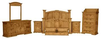 pine bedroom sets. santa fe rustic bedroom set w/ trunk pine sets t