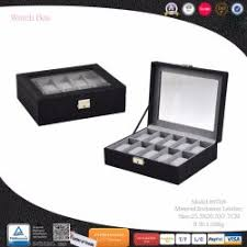 Standing Watch Display Case China Cosmetic Box manufacturer Jewelry Box Make up Box supplier 72