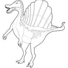 Small Picture Spinosaurus coloring pages Hellokidscom