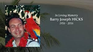 gwendolyn hicks obituary for barry joseph hicks