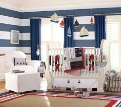 baby boy bedroom design ideas. Beautiful Baby Boy Bedroom Theme Ideas With Striped White Blue Walls Paint Design E