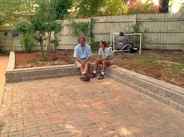Small Picture How to Build a Block Retaining Wall Retaining walls Diy network
