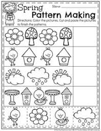 Pattern Activities For Preschoolers Gorgeous Spring Preschool Worksheets Planning Playtime