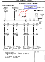 power coming v clock on gauge cluster is blank too here is the basic wiring diagram for your factory radio hope this helps thanks jay