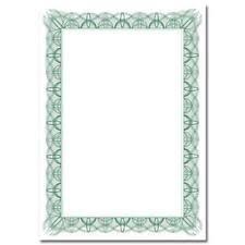 blank certificates blank certificate paper ebay