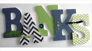 nursery wall decor letters