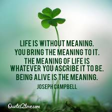 Meaning Of Quote Extraordinary Quote Of Joseph Campbell QuoteSaga