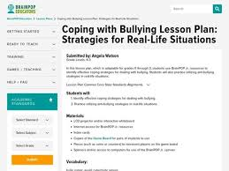 Anti Bullying Lesson Plans & Worksheets Reviewed by Teachers