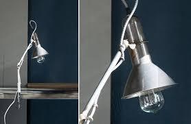 metal dockyard clip on desk lamp farmhouse inspired