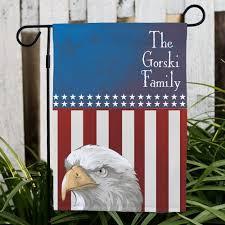 personalized patriotic garden flag patriotic gifts