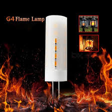 g4 2835smd 36 led flame effect flickering light bulb for decoration ac dc 12v