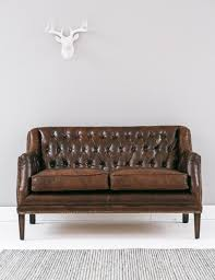 vintage leather couch. Vintage Leather Button \u0026 Stud Sofa Image Couch G