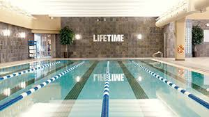 indoor gym pool. Indoor Lap Pool At Life Time Fitness Gym